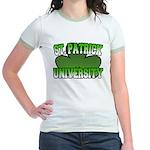 St. Patrick University Jr. Ringer T-Shirt