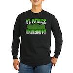 St. Patrick University Long Sleeve Dark T-Shirt