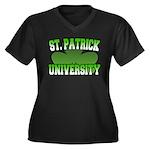 St. Patrick University Women's Plus Size V-Neck Da