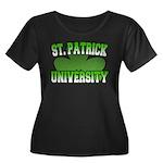 St. Patrick University Women's Plus Size Scoop Nec