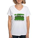 St. Patrick University Women's V-Neck T-Shirt