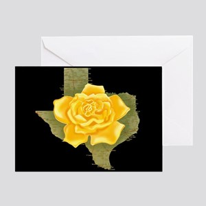Yellow rose gifts cafepress yellow rose of texas greeting card mightylinksfo