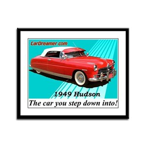 """""""Step Down Into My Hudson!"""" Framed Panel"""
