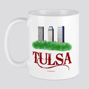 Tulsa Towers Mug