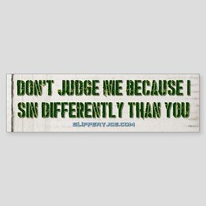 judge Bumper Sticker