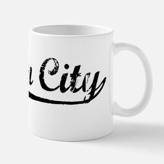 Vintage Suisun City (Black) Mug