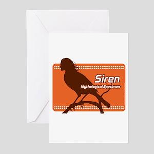 Siren - Mythological Specimen Greeting Cards (Pk o