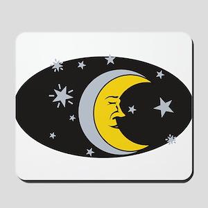 MOON & STARS (3) Mousepad