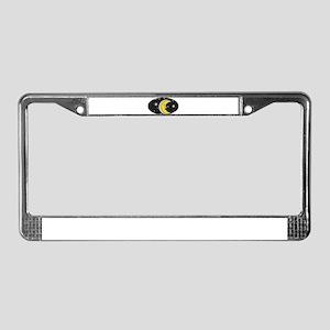 MOON & STARS (3) License Plate Frame