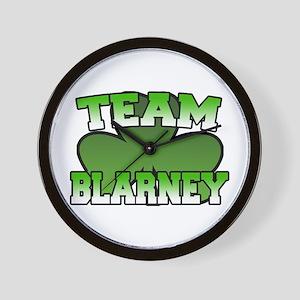 Team Blarney Wall Clock
