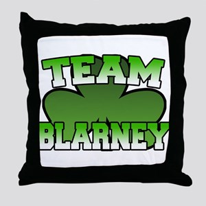 Team Blarney Throw Pillow
