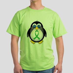 green ribbon penguin T-Shirt