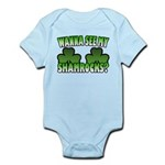 Wanna See My Shamrocks Infant Bodysuit