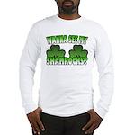 Wanna See My Shamrocks Long Sleeve T-Shirt