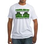 Wanna See My Shamrocks Fitted T-Shirt