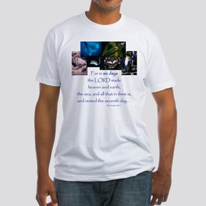 In Six Days Fitted T-Shirt