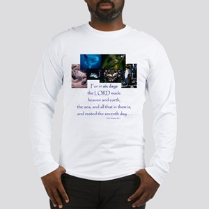 In Six Days Long Sleeve T-Shirt