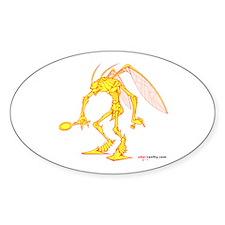 Vanity Oval Sticker