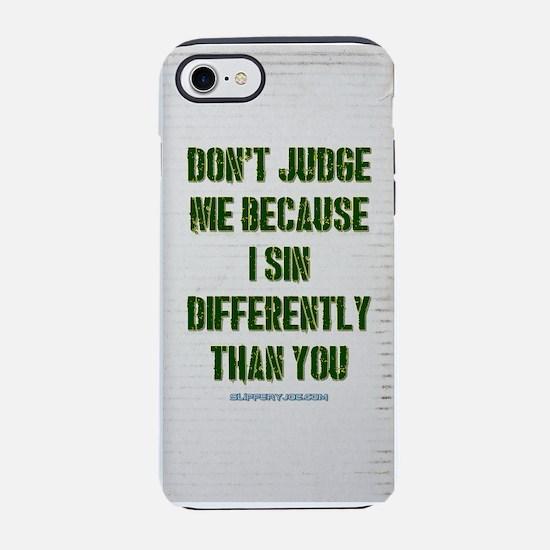 judge iPhone 8/7 Tough Case