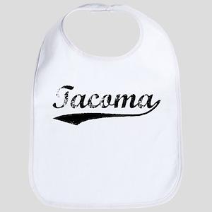 Vintage Tacoma (Black) Bib