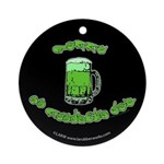 Happy St. Pat's Ornament (Round)