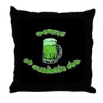 Happy St. Pat's Throw Pillow