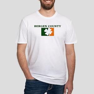 Bergen County Irish (orange) Fitted T-Shirt