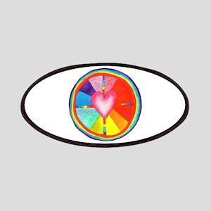 Heart Mandala small Patch