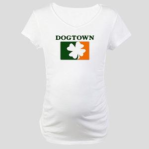 Dogtown Irish (orange) Maternity T-Shirt