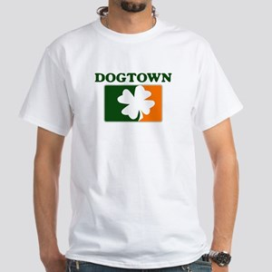 Dogtown Irish (orange) White T-Shirt