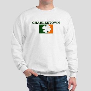 Charlestown Irish (orange) Sweatshirt