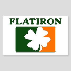 Flatiron Irish (orange) Rectangle Sticker