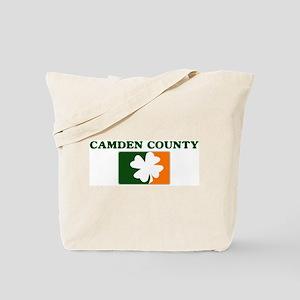 Camden County Irish (orange) Tote Bag