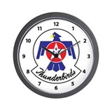 Air force thunderbirds Wall Clocks