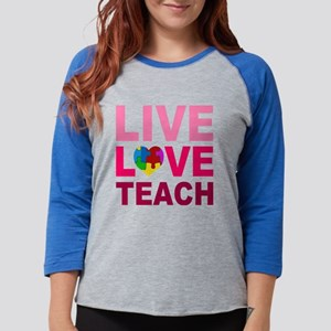 Live Love Teach Autism Long Sleeve T-Shirt