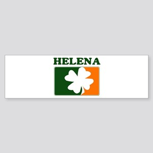 Helena Irish (orange) Bumper Sticker