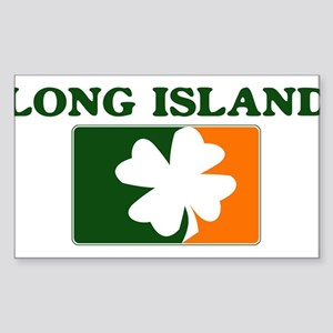 Long Island Irish (orange) Rectangle Sticker