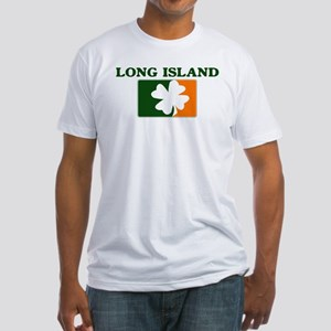 Long Island Irish (orange) Fitted T-Shirt