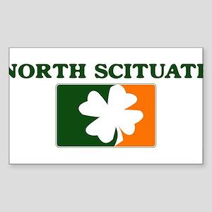 North Scituate Irish (orange) Sticker (Rectangular