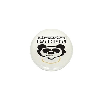 Crunk Panda™ Mini Button (10 pack)