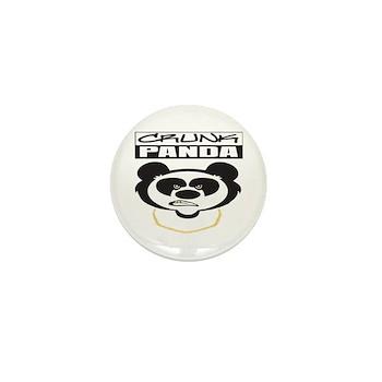 Crunk Panda™ Mini Button (10 pack)