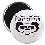 """Crunk Panda™ 2.25"""" Magnet (10 pack)"""