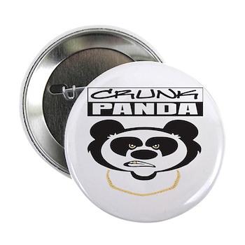 "Crunk Panda™ 2.25"" Button (10 pack)"