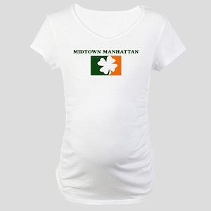 Midtown Manhattan Irish (oran Maternity T-Shirt