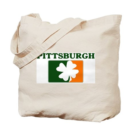 Pittsburgh Irish (orange) Tote Bag