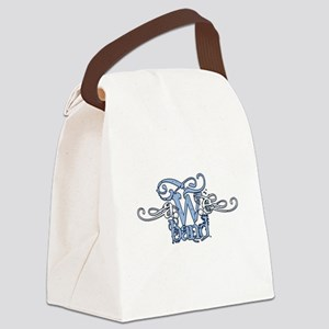 AweBand Logo Canvas Lunch Bag