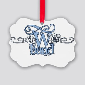 AweBand Logo Picture Ornament