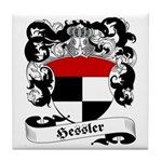 Hessler Family Crest Tile Coaster
