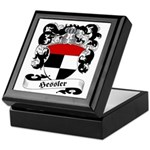 Hessler Family Crest Keepsake Box