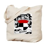 Hessler Family Crest Tote Bag